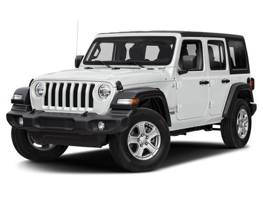 2020 Jeep WRANGLER UNLIMITED RUBICON 4X4