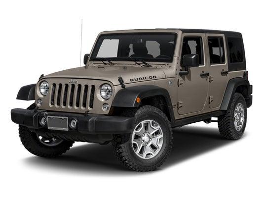 2017 Jeep Wrangler Unlimited Rubicon Abilene TX | Ft  Worth